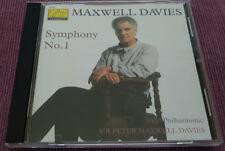 Sir Peter Maxwell Davies - Symphony No.1 - Collins Classics – 14352