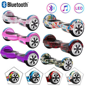 """Electric Scooters 6.5"""" Hoverboard Bluetooth Balance Board Self-Balancing Scooter"""