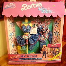 Barbie Jazzy Jeans Shop Fashion Mall Playcase #3109 New NRFP 1991 Mattel, Inc.