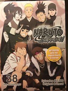 Naruto Shippuden: Uncut Set 38 (DVD, 2019, 2-Disc Set)