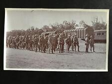CHINA BOXER REBELLION BRITISH TROOP ON TRAIN FROM TIENTSIN TO PEKING 八国联军英军进京