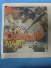 2013 BOSTON RED SOX-OCTOBER MAGIC- WORLD SERIES CHAMPS-USA TODAY-GOMES-10/30