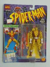 Spider-Man Shocker Shooting Power Blasts action figure 1994 Toy Biz MOC