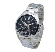 -Casio MTPSW300D-1A Men's Metal Fashion Watch Brand New & 100% Authentic