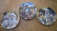 Set of 3 Collector's Plates from The Franklin Mint-2 w/ COAs