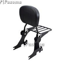 Adjustable Sissy Bar Passenger Backrest&Luggage Rack For Harley SuperLow XL883L