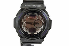 CASIO G-SHOCK MEN GA150MF-8A Silver Metallic Analog Digital Dial Black Resin