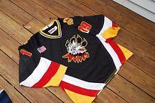 Connecticut Wolves Adult Medium SEWN BAKKA hockey jersey