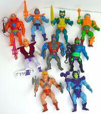 MOTU, Vintage figures lot, Masters of the Universe, He-Man, complete, Skeletor
