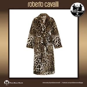 ROBERTO CAVALLI HOME   BRAVO - ANIMALIER   Shawl Collar Bath Robe