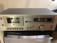 """TECHNICS  M 11    STEREO  CASSETTE DECK  """"Tested Does Work"""""""