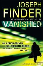 Vanished (Nick Heller 1) by Finder, Joseph 0755370007 The Cheap Fast Free Post