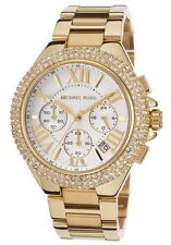*NEW* MICHAEL KORS LADIES WATCH MK5756 - GOLD TONE PAVE CRYSTALS CAMILLE