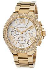 Neu Michael Kors Damen Armbanduhr MK5756 - Goldfarben Pflastern Kristalle