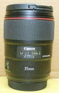 Canon EF 35mm 35 f/1.4 f/1.4L f1.4L f1.4 L II 2 USM - Sharp and Fast! USA Model