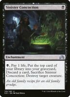 Magic the Gathering Set 4x Sinister Concoction - Shadows over Innistrad NearMint