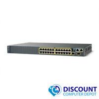 Cisco WS-C2960S-24TS-S Catalyst 24-Port 10/100/1000 Gigabit Ethernet Switch