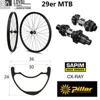 Carbon wheelset Super Light 29er MTB XC wheels 36mm width 24mm depth with DT 350