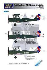 LF Models Decals 1/48 DE HAVILLAND DH.82A TIGER MOTH OVER URUGUAY