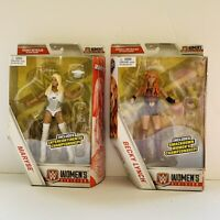 Lot Of 2 WWE Mattel Elite Smackdown Maryse/Becky Lynch Figures WITHOUT BELTS
