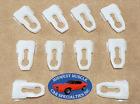 Ford Side Belt Body Fender Door Quarter Hood Trunk Molding Trim Clips 10pcs C