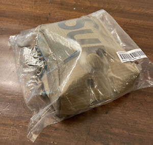 SUPREME NECK POUCH TAN OS SS21 (IN HAND) BRAND NEW SEALED/ 100% AUTHENTIC