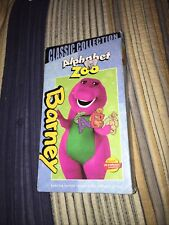 Barney Alphabet Zoo VHS - Classic Collection