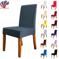 Spandex Stretch Wedding Banquet Chair Cover Party Dining Room Decor Seat Covers