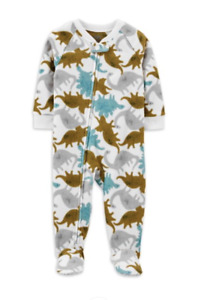 Child Of Mine Boys Dinosaur Blanket Sleeper Pajamas Size 12 m 2 4T 5 6 8 NWT