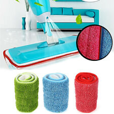 3pcs Replacement Microfiber Washable Spray Mop Dust Mop Household Mop Head Clean
