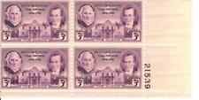 Vintage Texas Centennial 3 Cent  Stamp plate block