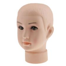 Baby Boys Children Mannequin Child Manikin Head For Hair Wig Hats Display