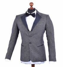 Patternless 100% Wool Suits for Men