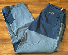 Men's Bear Grylls Craghoppers Olive Green/Black Hiking Outdoor Pants Size~28X30