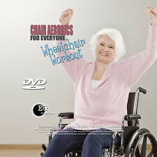 Chair Aerobics for Everyone: Wheelchair Workout Low Impact DVD *New Unopened*