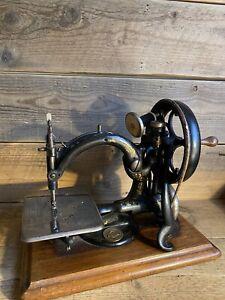 Willcox & Gibbs Antique Sewing Machine Willcox