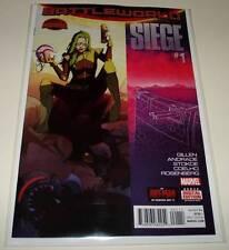 SIEGE # 1 Marvel Comic  Sept 2015 NM  Secret Wars Battleworld