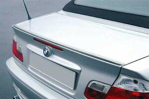 Für BMW E46 3er Cabrio Heck Spoiler Spoilerlippe Kofferraum Spoiler Lippe M M3