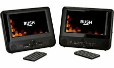 "Bush 9791C Multi-Region Dual Twin Screen 9"" inch LCD in Car Headrest DVD Players"