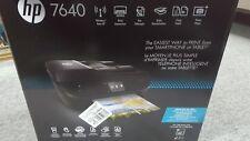 HP Envy 7640 e All In One Color Inkjet Printer, Fax, Copier & Scanner *
