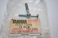 2 NOS YAMAHA SCREWS 98501-05035 SNOWMOBILE GRIP WIRING GENERATOR STEERING EX SRX