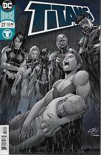 Titans No.27 / 2018 Metallic Foil Variant Cover