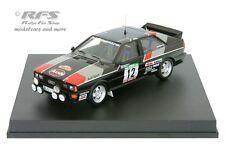 AUDI quattro-rallye portugal 1981-MOUTON/pons - 1:43 - trofeu 1603