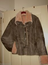 MARVIN RICHARDS WINTER JACKET BROWN SIZE XL PRE-OWN GREAT BARELY WORN SO CUTE!!