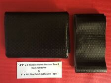 Mobile Home Bottom Board & Flex Patch Repair Tape Combo