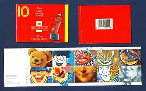 GREAT BRITAIN GB - # 1313a - Booklet KX3 complete VFMNH with cylinder numbers -