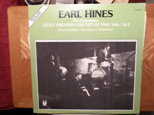 MUSE 2 LP RECORD MR 2001/EARL HINES/LITTLE THEATER CONCERT OF 1964 VOL 1 & 2/ EX