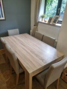 Next Corsica Extendable Dining Table and 6 Chairs