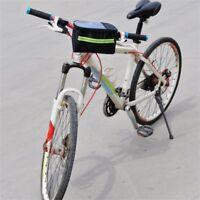 Bike Handlebar Bag Bicycle Pannier Frame Tube Outdoor Cycling Front Basket Cs