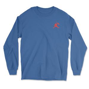 Air Jerry t-shirt Garcia Grateful Dead Jordan Left Chest Long Sleeve